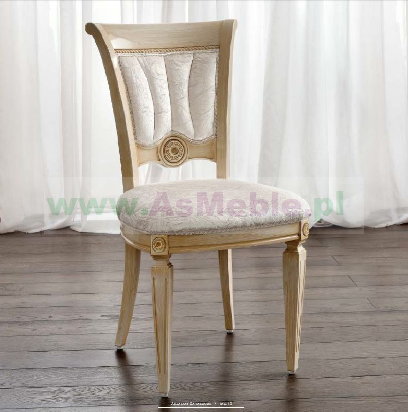 Aida Krzesło Włoskie Stylowe Meble Do Salonu Meble