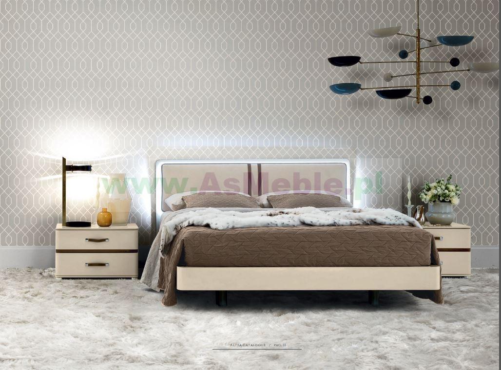 Altea Grupa łóżkowa Milanofibbia Włoska Kolekcja Mebli Do