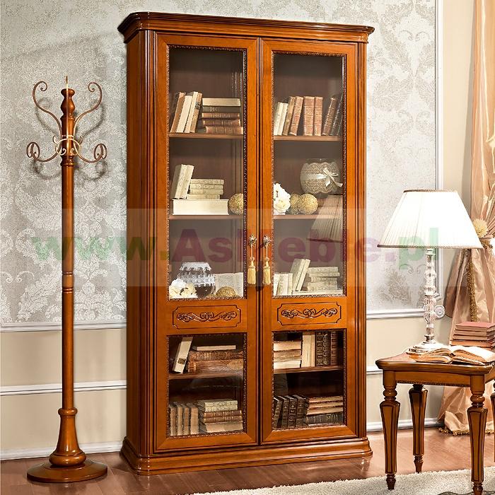 biblioteczka 2d torriani drewniane p243�ki orzech w�oski
