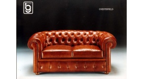 CHESTERFIELD  -sofa 2 os.