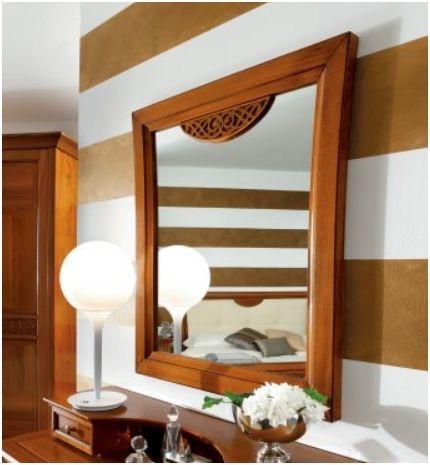 Decor lustro drewniane as for Art decoration meble