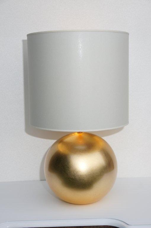 Gold Ball Lampy Mala Lampa Zlota Kula Z 24 Karat Zloto Meble