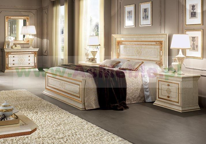 Leonardo łóżko Włoskie Rozmiar Queen 160x200 Cm Bez