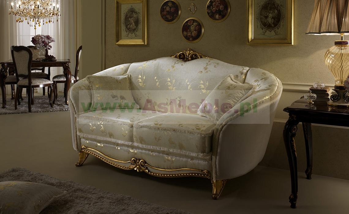 lounge luksusowa sofa 2 os z kolekcji donatello
