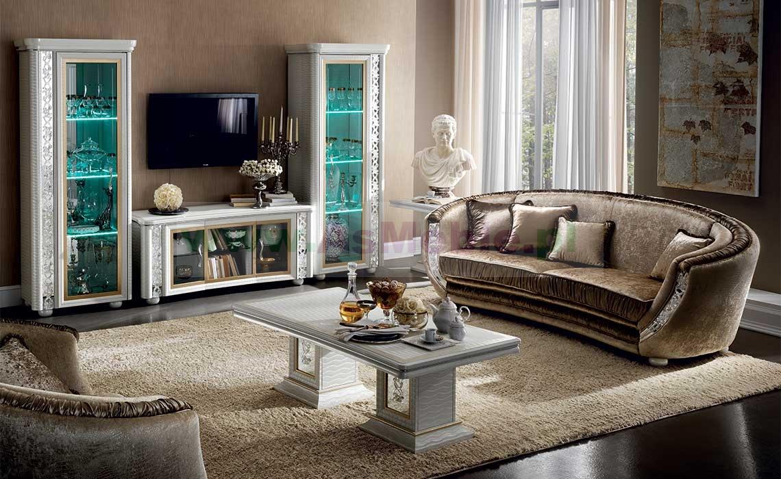 Luksusowa sofa 3 os kolekcji miro w oskie meble stylowe for Dos arredamenti