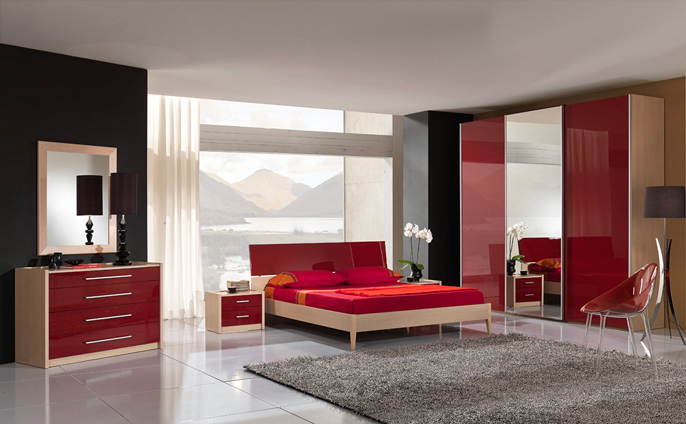 Chambre A Coucher Gris Et Rouge 3 Populair Pictures to pin on