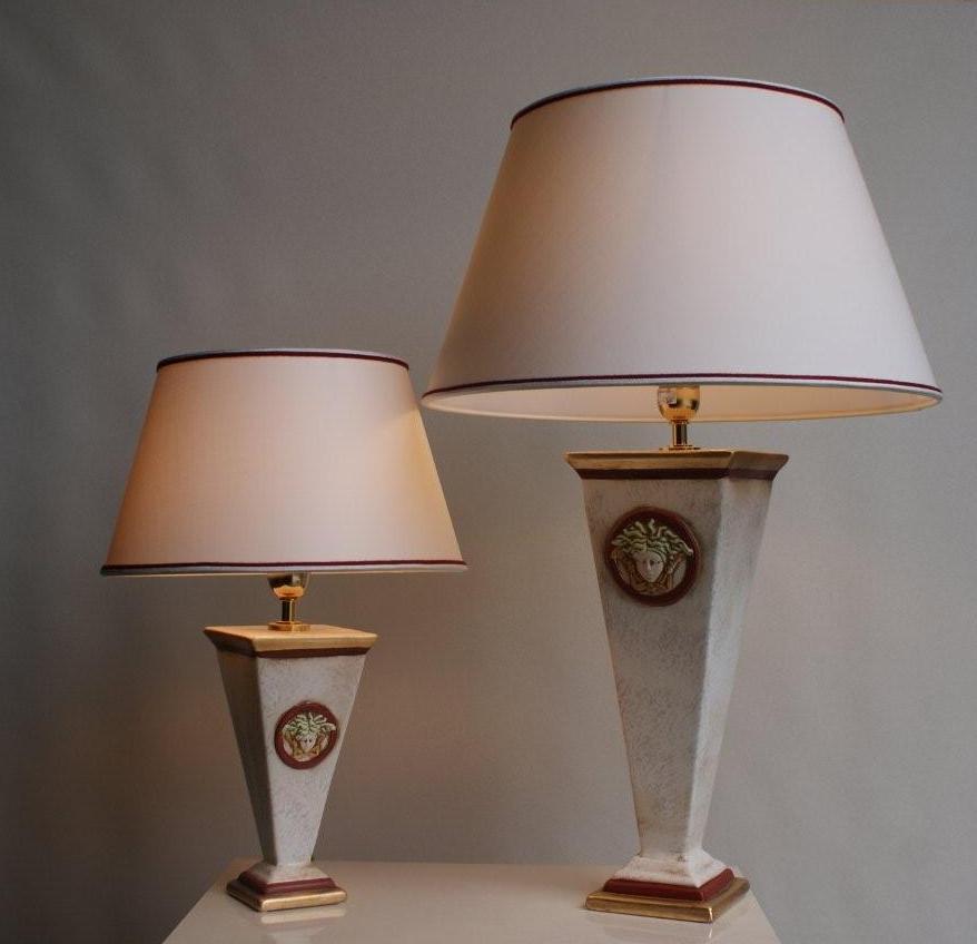 lampa versace medusa lampy w�oskie id 122 asmeble