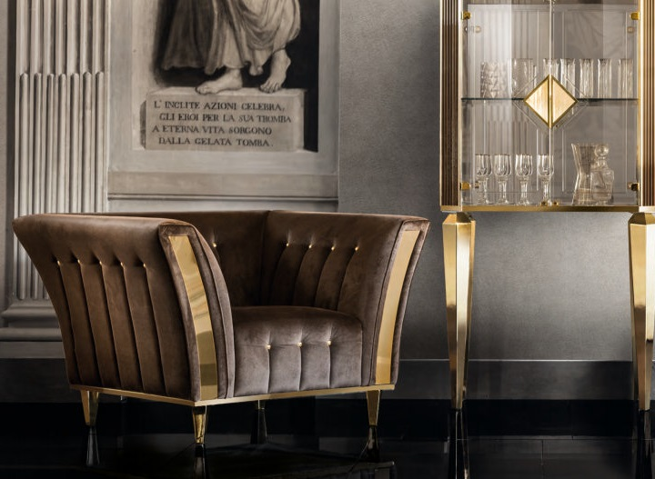 Ekskluzywny Fotel 1 Osobowy Diamante Kat B Luksusowy Zestaw