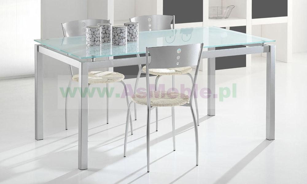 Dodatkowe Antares - stół ze szklanym blatem 130 cm Meble włoskie sypialnie ZD52