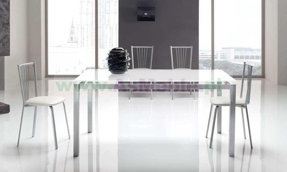 Góra Antares - stół ze szklanym blatem 160 cm Meble włoskie sypialnie AD04