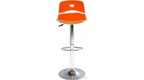Diamentionale Orange - hocker barowy z kolekcji Kare Design