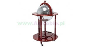 Bar Globe  Disco Red - bar z kolekcji Kare Desing