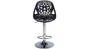 Ornament Black - hocker barowy z kolekcji Kare Design