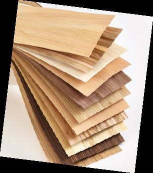 fornir drewniany